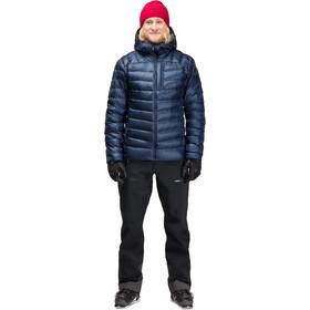 Norrøna Lyngen Down850 Hood Jacket Herren indigo night